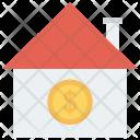 Rent Cash House Icon