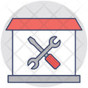 Home Repair Construction Icon