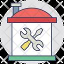 Home Repair House Icon