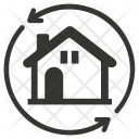 Home Replacement Building Icon