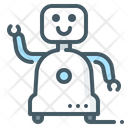 Home Robot Assistants Icon
