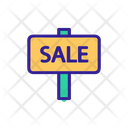Building Sale Real Icon