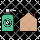 Spray Antibacterial Protection Icon