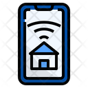 Estate Property Technology Icon