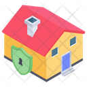 Home Security Home Protection House Lock Icon