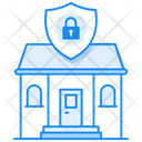 Home Protection Home Security Real Estate Security Icon