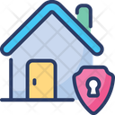 Home Security Safety Shield Icon