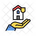 Home Security Color Icon