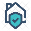 Home Security Home Protection Lock Home Icon
