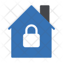 House Lock Protection Icon