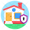 Home Security House Security Home Protection Icon