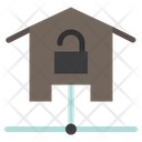 Home Security Home Protection Unlock Icon