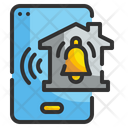 Home Security Notification Notification Alert Icon