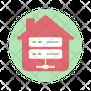 Home Server House Server Home Network Icon