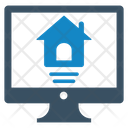 Home Service Online Renting Icon