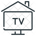 Home Television Icon