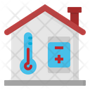 Thermometer Smart Home Icon