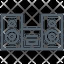 Electronic Sound Speaker Icon