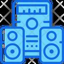 Home Theater Speaker Icon