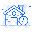 Home Time House Time Back To Home Icon