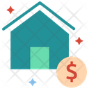 Home Value Market Value House Value Icon