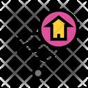 Wifi House Home Icon