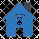 House Wifi Home Icon
