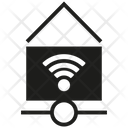 Home Wifi Internet Network Icon