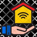 Home Wifi Smart Home Home Icon