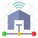 Home Wifi Broadband Internet Connection Icon