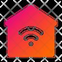 Home Wifi Smart House Wifi Icon