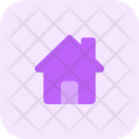Home With Chimney Icon