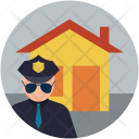 Home with security Icon