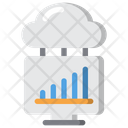 Home Working Graph Icon