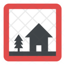 Home Zone Sign Icon