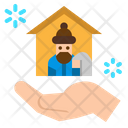 Homeless Charity Donation Icon