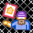 Homeless Nameplate Icon