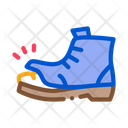 Homeless Torn Boot Icon