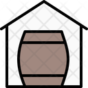 Homemade Beer Home Brew Barrel Icon