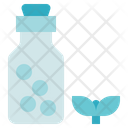 Medical Service Homeopathy Bottle Icon