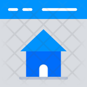 Homepage Home House Icon