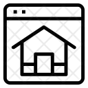 Online Estate Webpage Icon