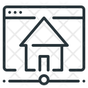 Network Internet Homepage Icon
