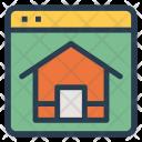 Homepage Online Estate Icon