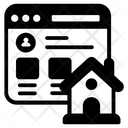 Homepage Mainpage Webpage Icon