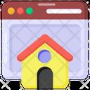 Web Page Web Home Homepage Icon