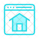 Homepage Browser Online Icon