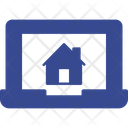 Laptop Home Page Icon