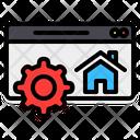 Homepage Optimization Webpage Icon