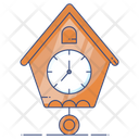 Hometime Home Clock House Time Icon